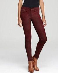 Rag & Bone | Red Pants The Leather Skinny Slim | Lyst