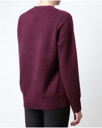 Acne Studios - Purple Filippa Cashmere Sweater - Lyst