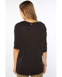 Obey | The Dreamstate Dolman Top in Black | Lyst