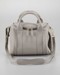 Alexander wang Rockie Small Crossbody Satchel Bag Oyster in ...