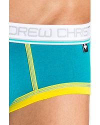 Andrew Christian | Blue Tighty Whitie Punked Briefs for Men | Lyst