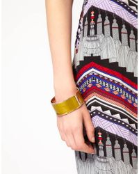 Love Moschino | Pink Large Colour Block Bracelet | Lyst