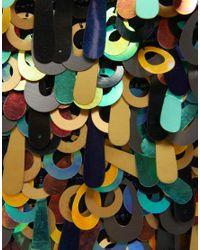 ASOS | Black Loop Sequin Clutch | Lyst