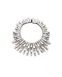 Noir Jewelry | Metallic Nightfall Statement Collar | Lyst
