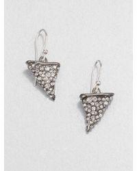 Alexis Bittar | Metallic Grey Gardens Thorn Earringsgunmetal | Lyst