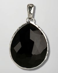 Ippolita - Metallic Giant Onyx Teardrop Enhancer - Lyst