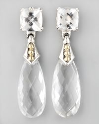 Lagos | Prism Earrings White Topaz | Lyst