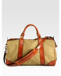 417f9b5985 Lyst - Polo Ralph Lauren Gym Bag in Natural for Men