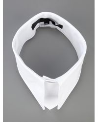 Karl Lagerfeld | White Pointed Collar | Lyst
