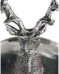 ASOS - Metallic Stag Jewellery Holder Ring Dish - Lyst