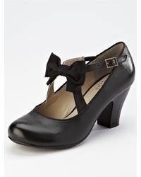 Hush Puppies | Black Hush Puppies Lolita Mary Jane Shoes | Lyst