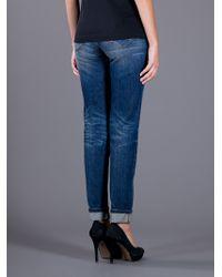 Dolce & Gabbana | Blue Slim Fit Jean | Lyst