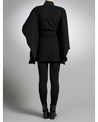Somerset by Alice Temperley Somerset By Alice Temperley Cape Coat Black