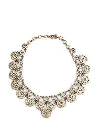Lucky Brand - Metallic Necklace - Lyst