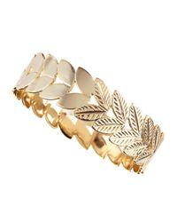 Kendra Scott | Metallic Artemis Leaf Bangle | Lyst