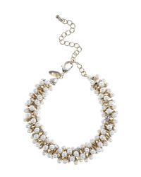 Coast   White Sasha Pearl Bracelet   Lyst