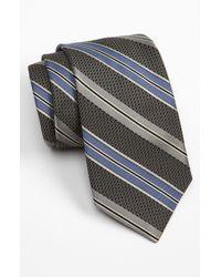 John W. Nordstrom   Gray Woven Silk Tie for Men   Lyst