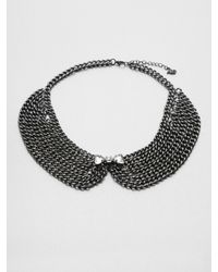 ABS By Allen Schwartz | Chain Link Collar Necklace | Lyst