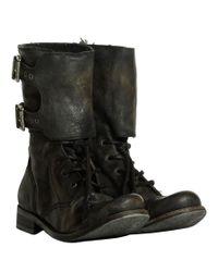 AllSaints Black Damisi Boots