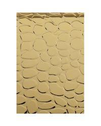 KOTUR - Metallic Morley Croc-embossed Box Clutch - Lyst