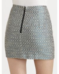 Sachin & Babi   Gray Sharpe Skirt   Lyst