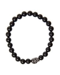 Simon Carter | Black Skull and Onyx Beads for Men | Lyst