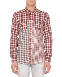 Dolce & Gabbana | Red Long Sleeve Shirt for Men | Lyst