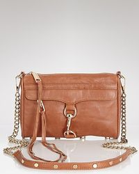 Rebecca Minkoff | Brown Crossbody Clutch Mini Mac | Lyst