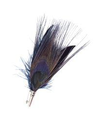 Hobbs | Blue Feather Brooch | Lyst