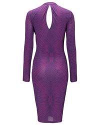 Allegra By Allegra Hicks Allegra By Allegra Hicks Martini Dress Purple
