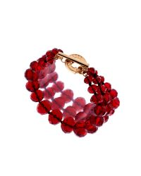 Ted Baker | Red Ted Baker Large Graduated Bead Bracelet | Lyst