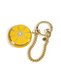Marc By Marc Jacobs - Yellow Sliced Lemon Fruit Bag Charms - Lyst