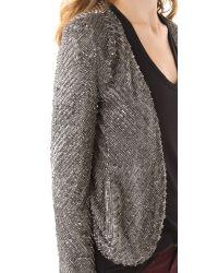 Parker Gray Ombre Sequin Jacket
