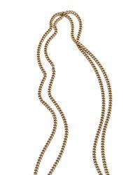 Citrine by the Stones - Metallic Toltec Pendant Necklace - Lyst