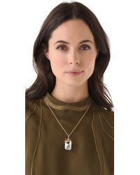 Tom Binns - Metallic Rokoko Dumont Pendant Necklace - Lyst