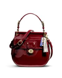 COACH | Red Patent New Willis | Lyst