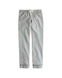 J.Crew | Gray Flannel Pyjama Pant in Gingham | Lyst