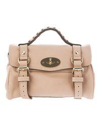 Mulberry | Beige Mini Alexa Bag | Lyst