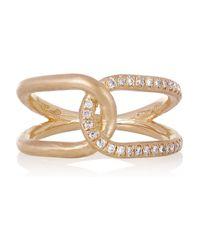 Brooke Gregson - Metallic Infinity 18karat Rose Gold Diamond Ring - Lyst