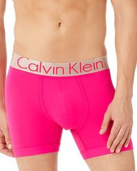 Calvin Klein - Pink Steel Micro Boxer Briefs for Men - Lyst
