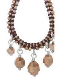 Chan Luu - Pink 14karat Rose Gold Vermeil and Sterling Silver Earrings - Lyst