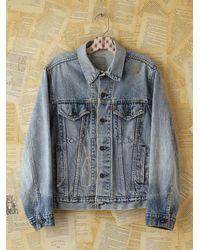 Free People | Blue Vintage Levis Denim Jacket | Lyst