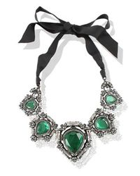 Lanvin Green Lanvin Necklace