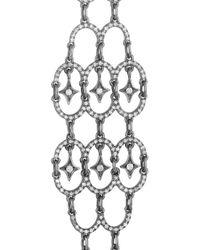 Loree Rodkin - Metallic Polina 18karat Rhodium White Gold Diamond Earrings - Lyst