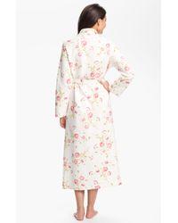 Carole Hochman | Floral Vintage Roses Robe | Lyst