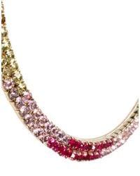 ASOS - Multicolor Rainbow Collar Necklace - Lyst