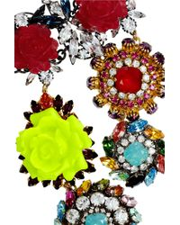 Erickson Beamon   Multicolor I Never Promised You A Rose Garden Goldplated Swarovski Crystal Necklace   Lyst