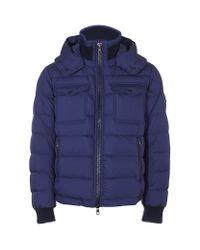 Moncler   Blue Padded Jacket for Men   Lyst