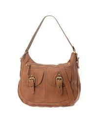ALDO Brown Lozada Large Shoulder Bag