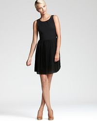 Sachin & Babi | Black Dress Maratea with Chiffon Pleated Skirt | Lyst